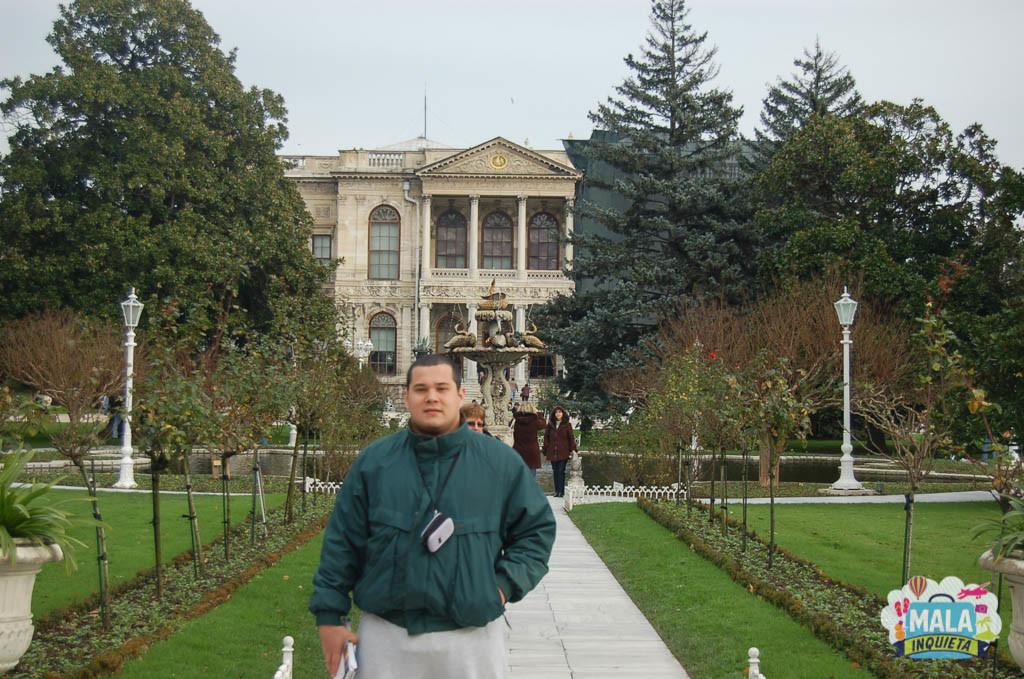 Palácio Dolmabahce - Istambul - Turquia - 2009 | Foto: Mala Inquieta