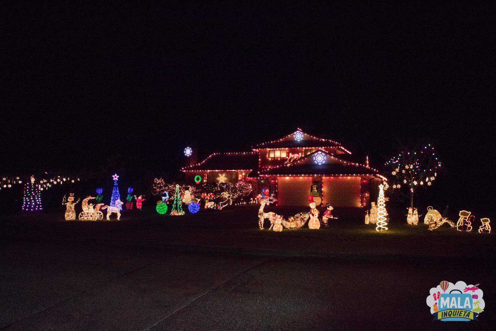 Christmas Decor Coquitlam Center