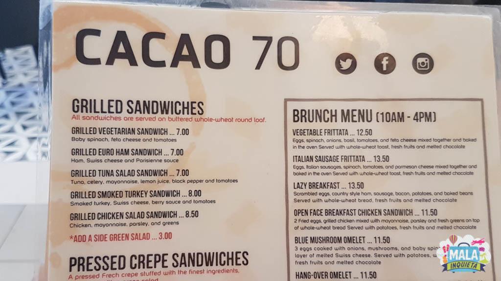 Sanduíches do Cacao 70 | Foto: Renata Luppi