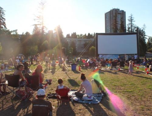 Festivais de Cinema ao ar livre 2018