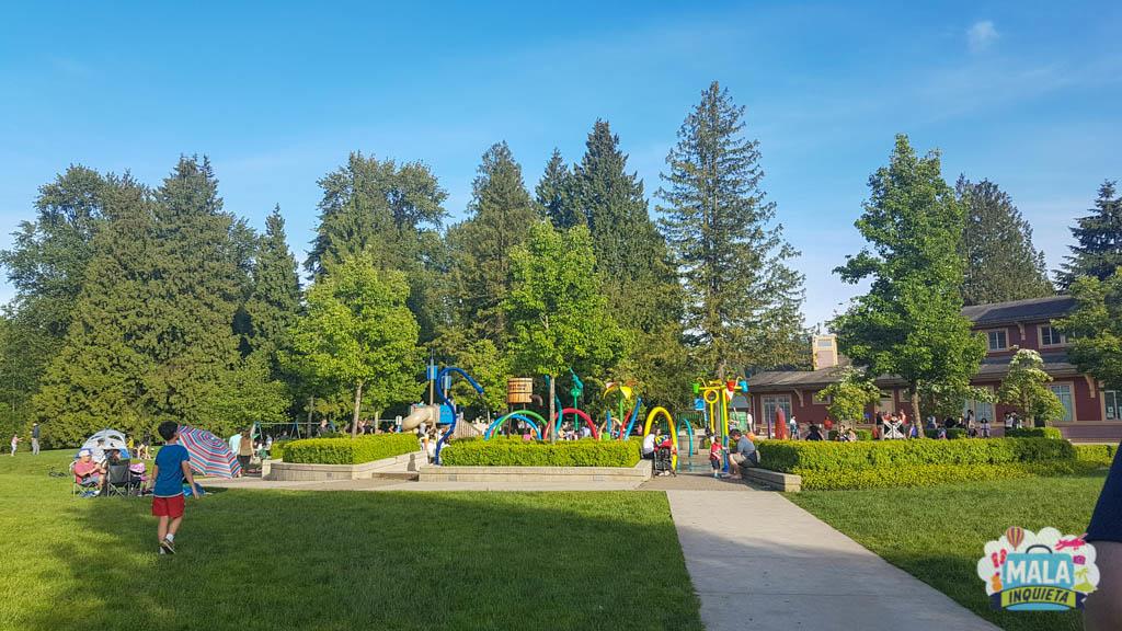 Parquinho na região de Grande Vancouver | Foto: Renata Luppi
