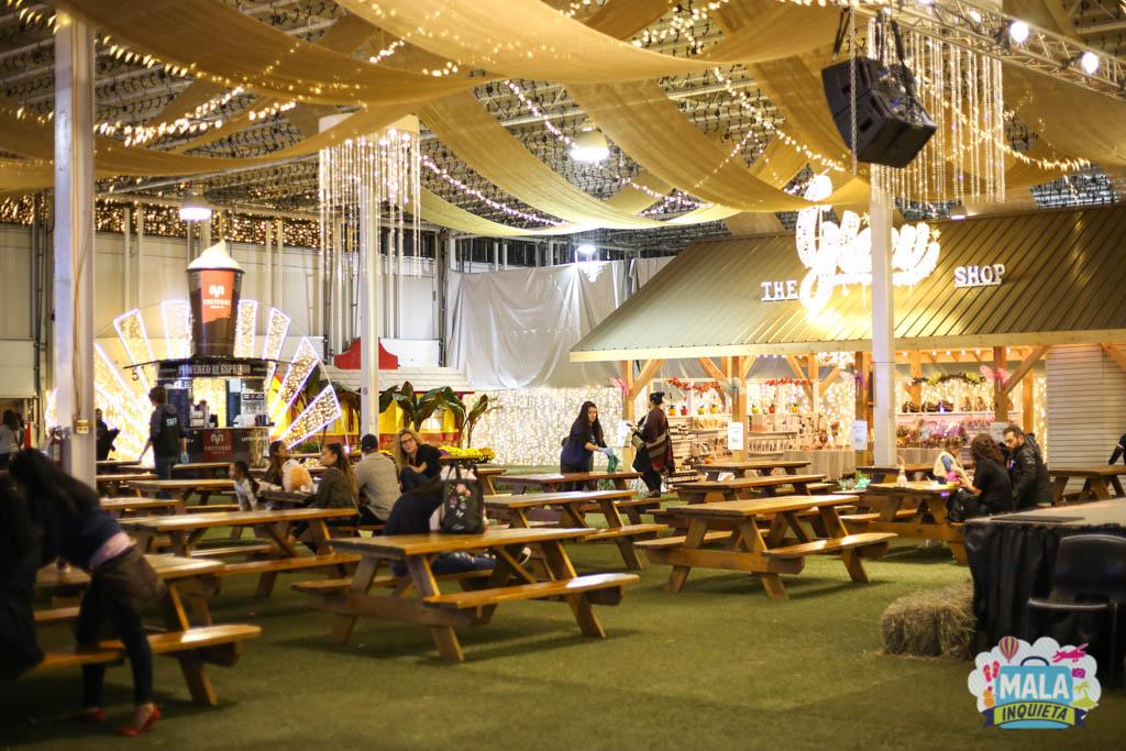 Área de pic nic do evento | Foto: Renata Luppi