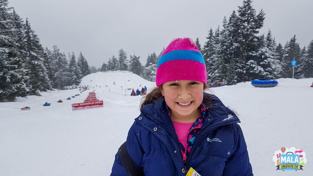 SnowTubbing no Mount Seymour | Foto: Renata Luppi